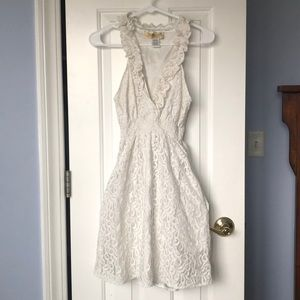 Francesca's Cream Dress *with pockets!!*